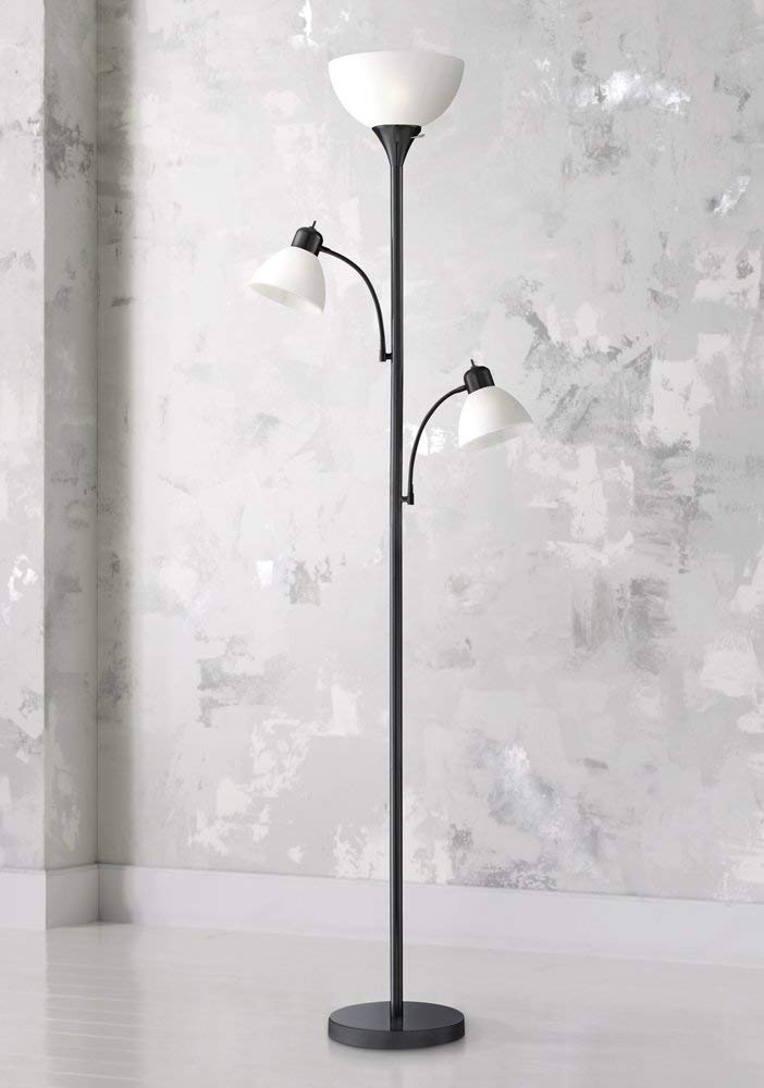 360-Lighting Bingham Black Tree 3-light Floor Stand Lights