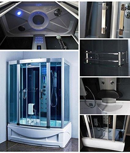 Luxury KBM 9001 Bathtub, Steam Shower Room Enclosure