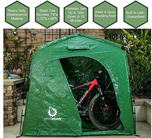 YardStash The IV: Heavy-Duty Outdoor Storage Shed Tent
