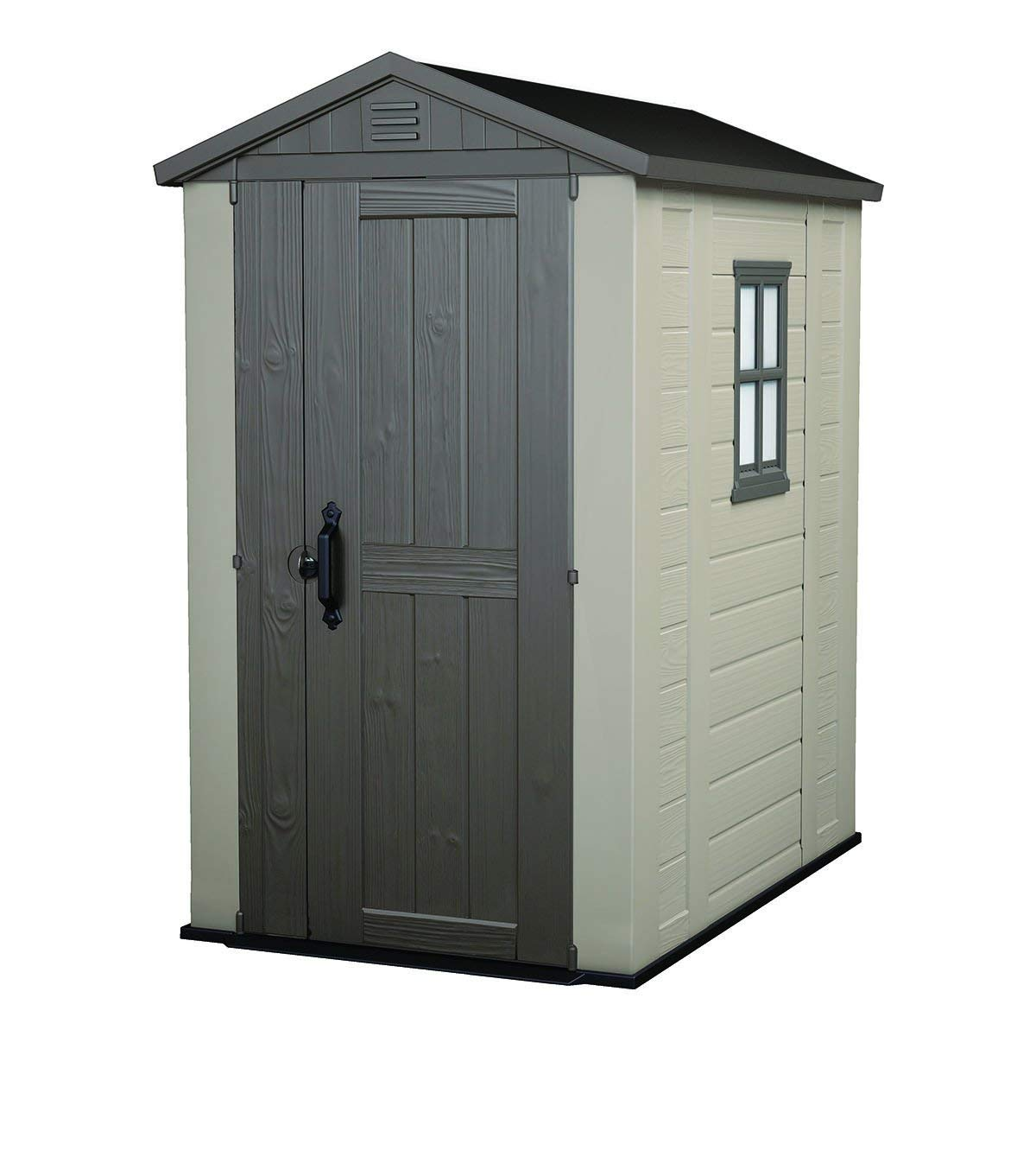 Keter Factor Large Resin Outdoor Backyard Storage Shed