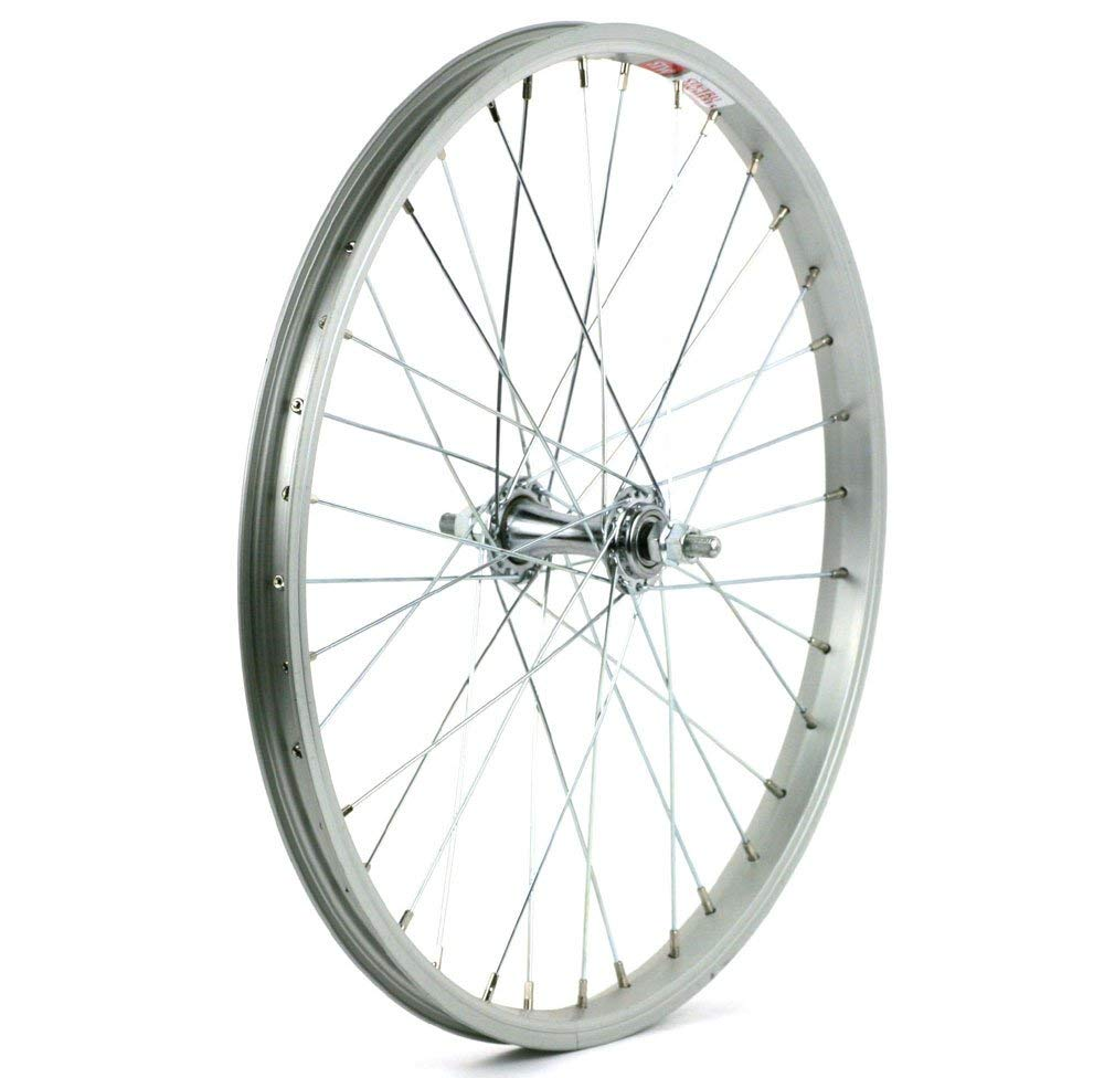 Sta-Tru Silver St1 20-Inch Front Bicycle Wheel