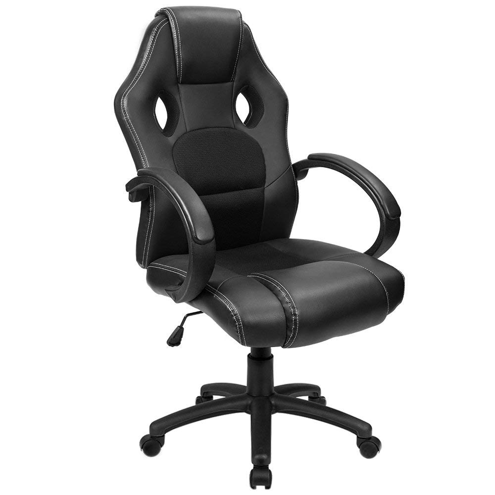 Furmax Office Leather Desk Gaming Computer Chair