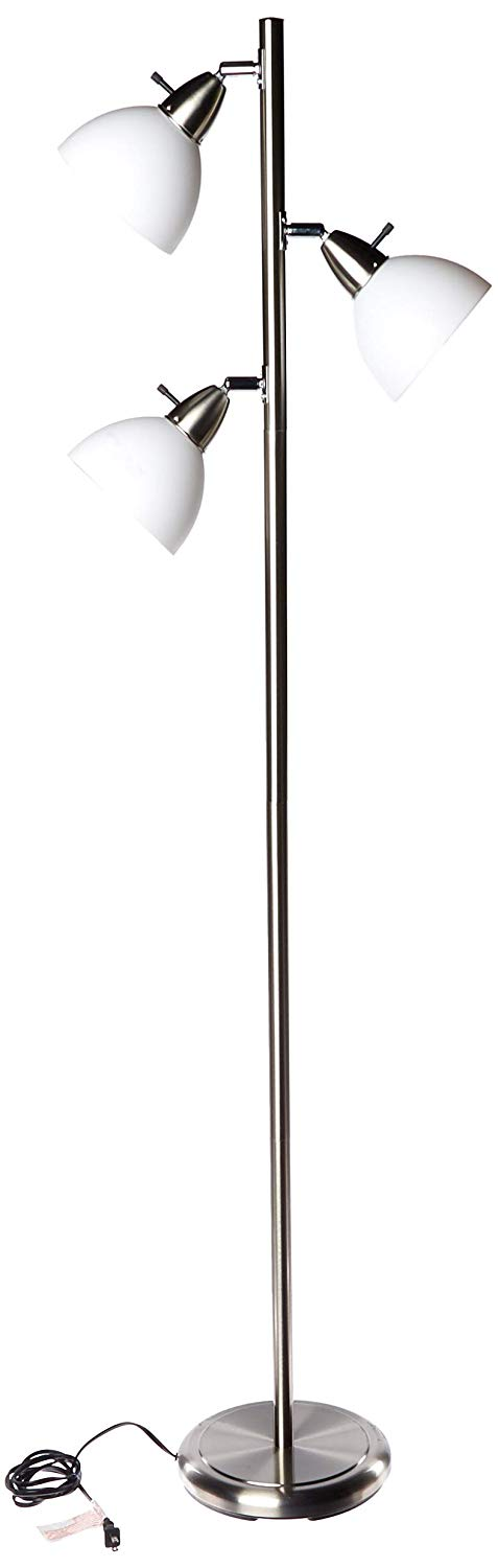 Boston Harbor TL-TREE Three Stand Floor Lights