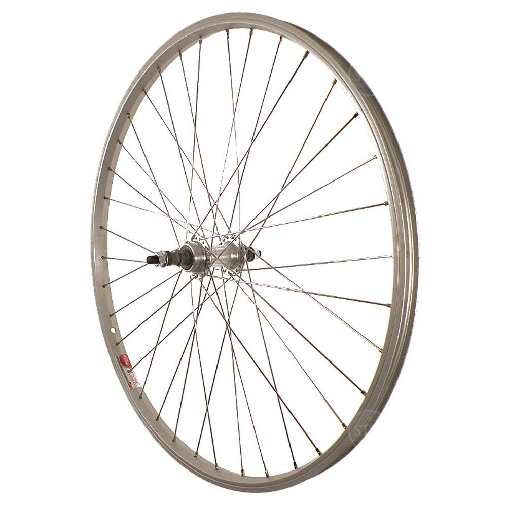 Sta Tru STW Silver Rear Mountain Bike Wheel, RWS2615AA