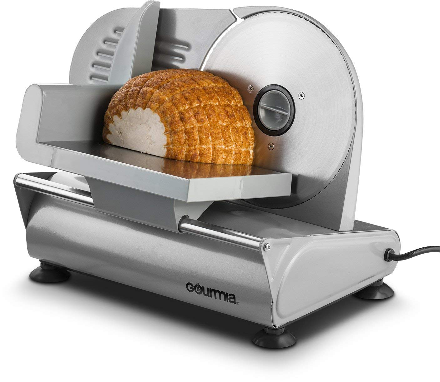 . Gourmia GFS-700 Counterman Professional Electric Power Food & Meat Slicer
