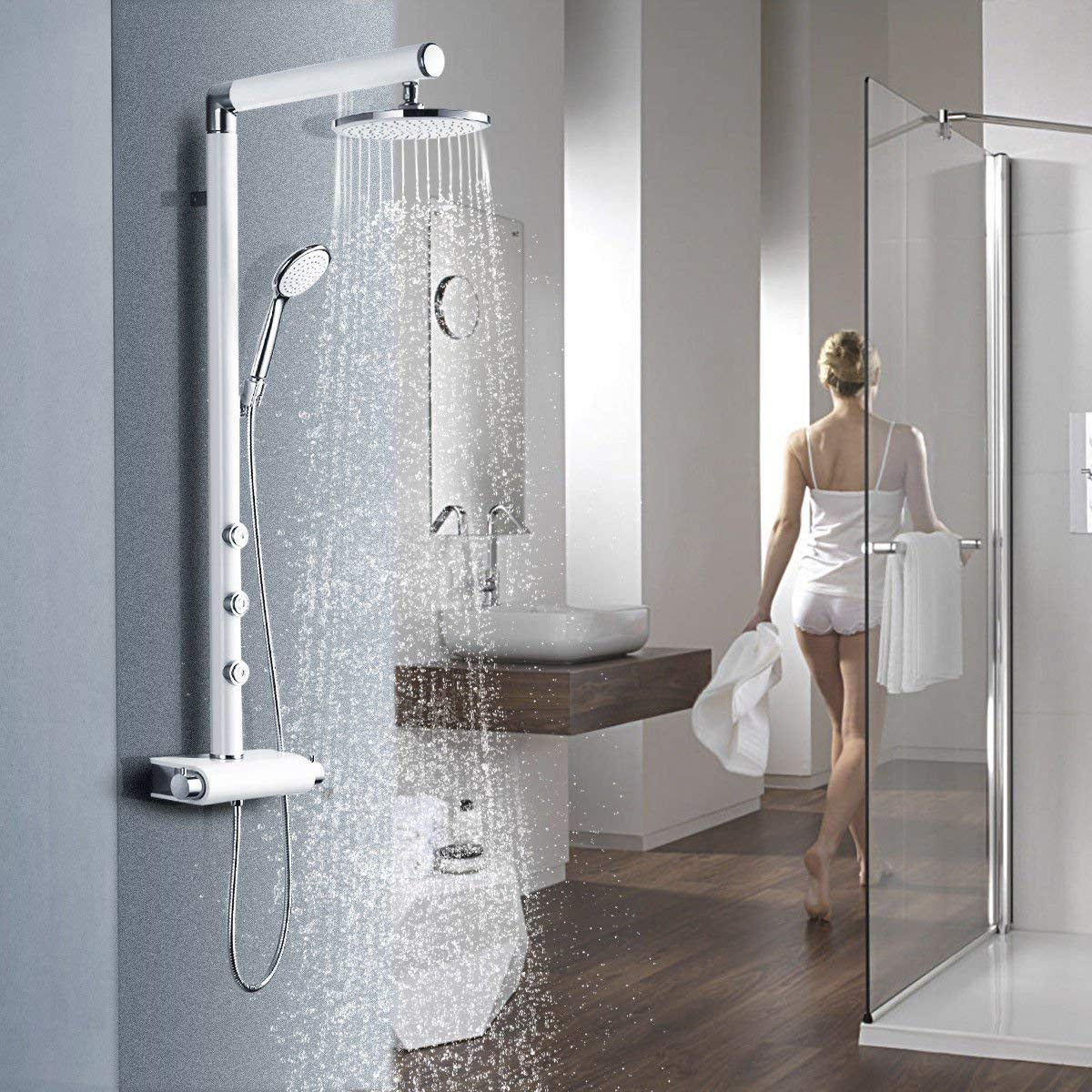 4. Giantex Rainfall Waterfall Shower Panel