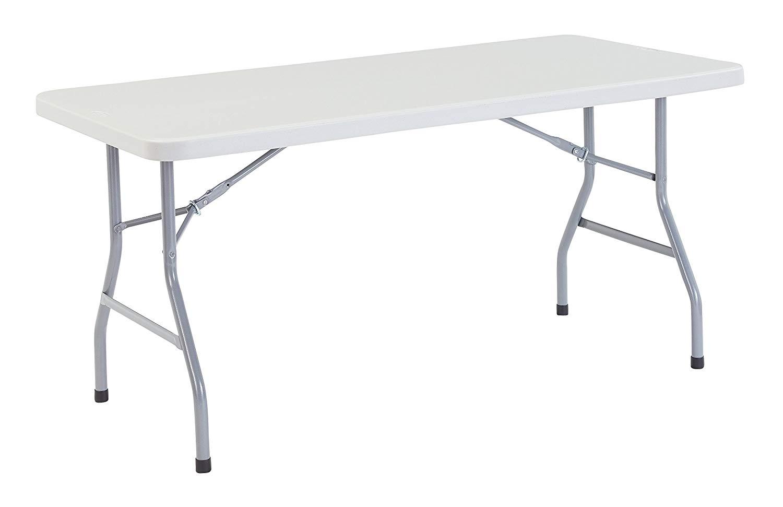 NPS 30 X 60 Inches Heavy-Duty Folding Table