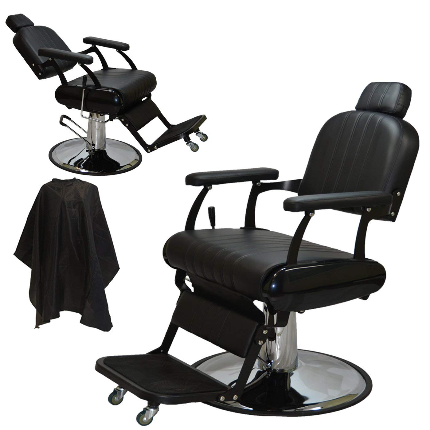 LCL Beauty Extra-Large Classic Hydraulic Barber Chair