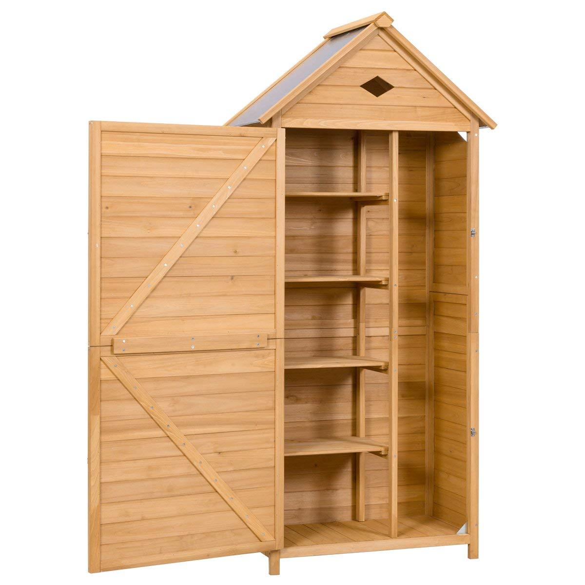 GoPlus Outdoor Storage Shed Yard