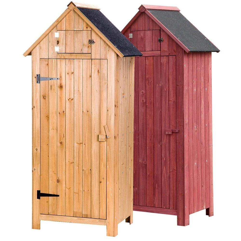 Yoshioe 70-Inch Garden Storage Shed