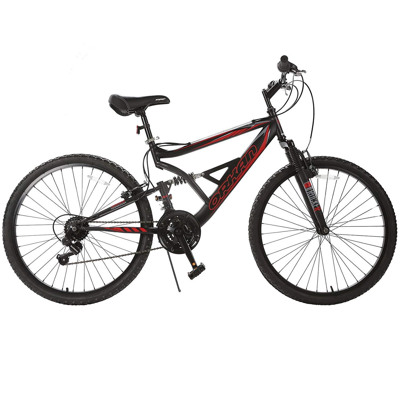ORKAN Reinforced Mountain Bike 26-Inch Hybrid Bike