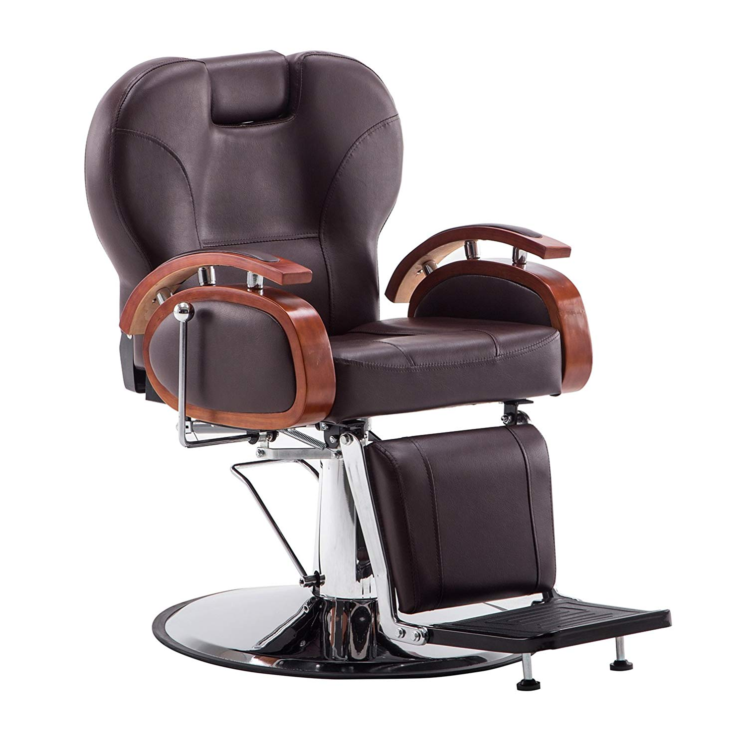 Exacme Hydraulic Recline Barber Chair, 8705