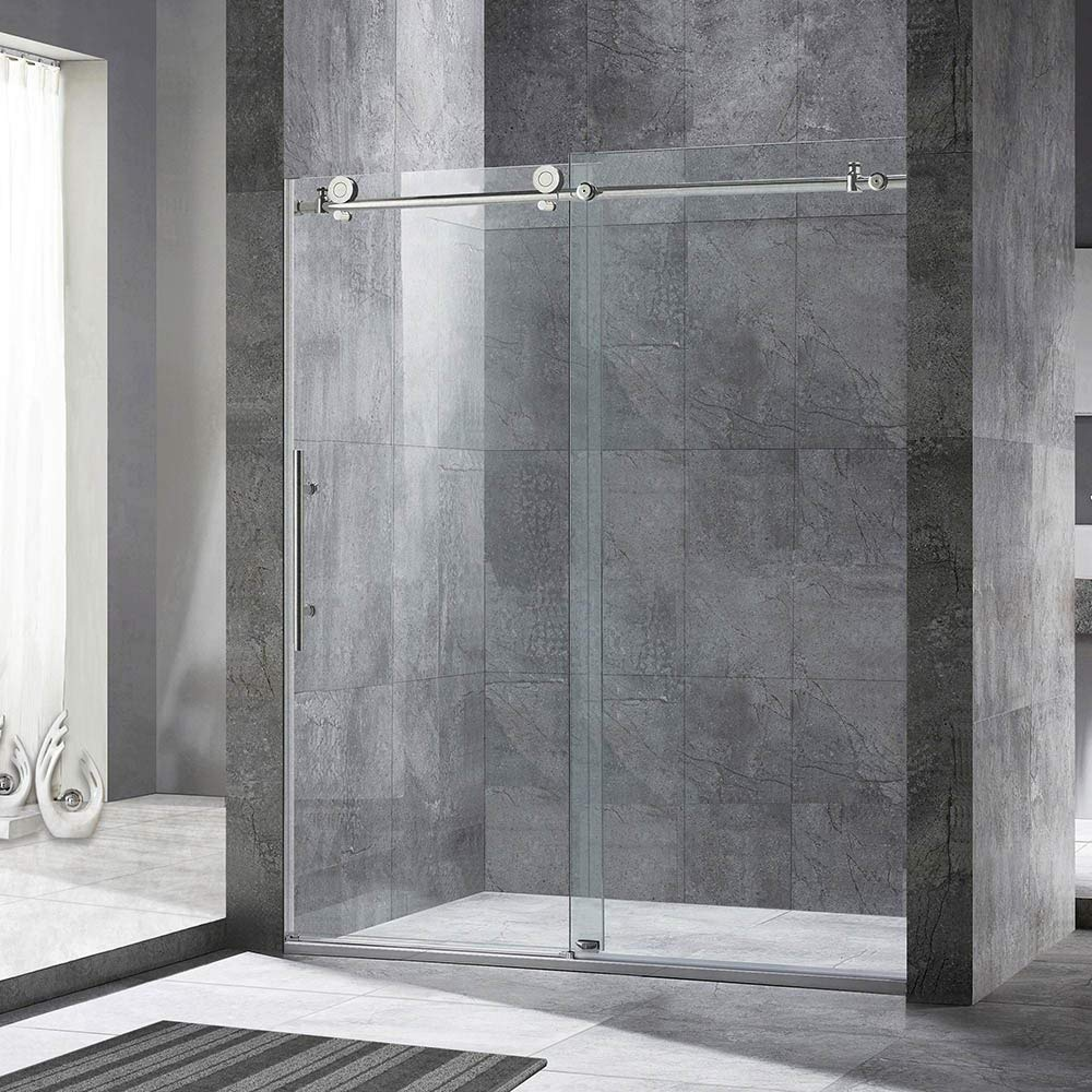 Woodbridge Frameless Sliding Glass Shower Door