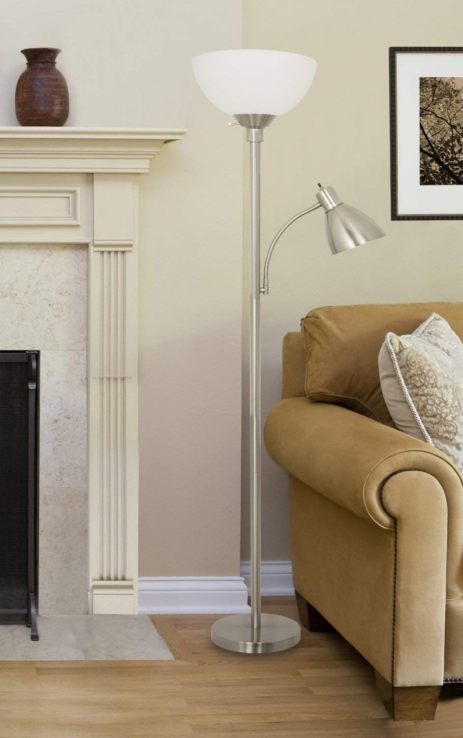Lightaccents 150 Watt Metal Floor Light