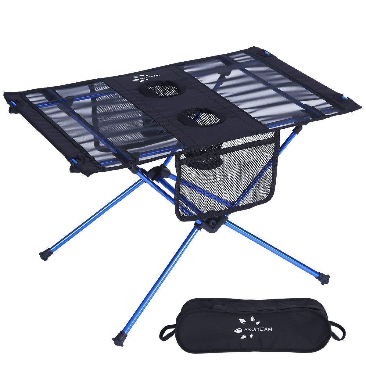 Fruiteam Portable Camp Walmart Folding Beach Table
