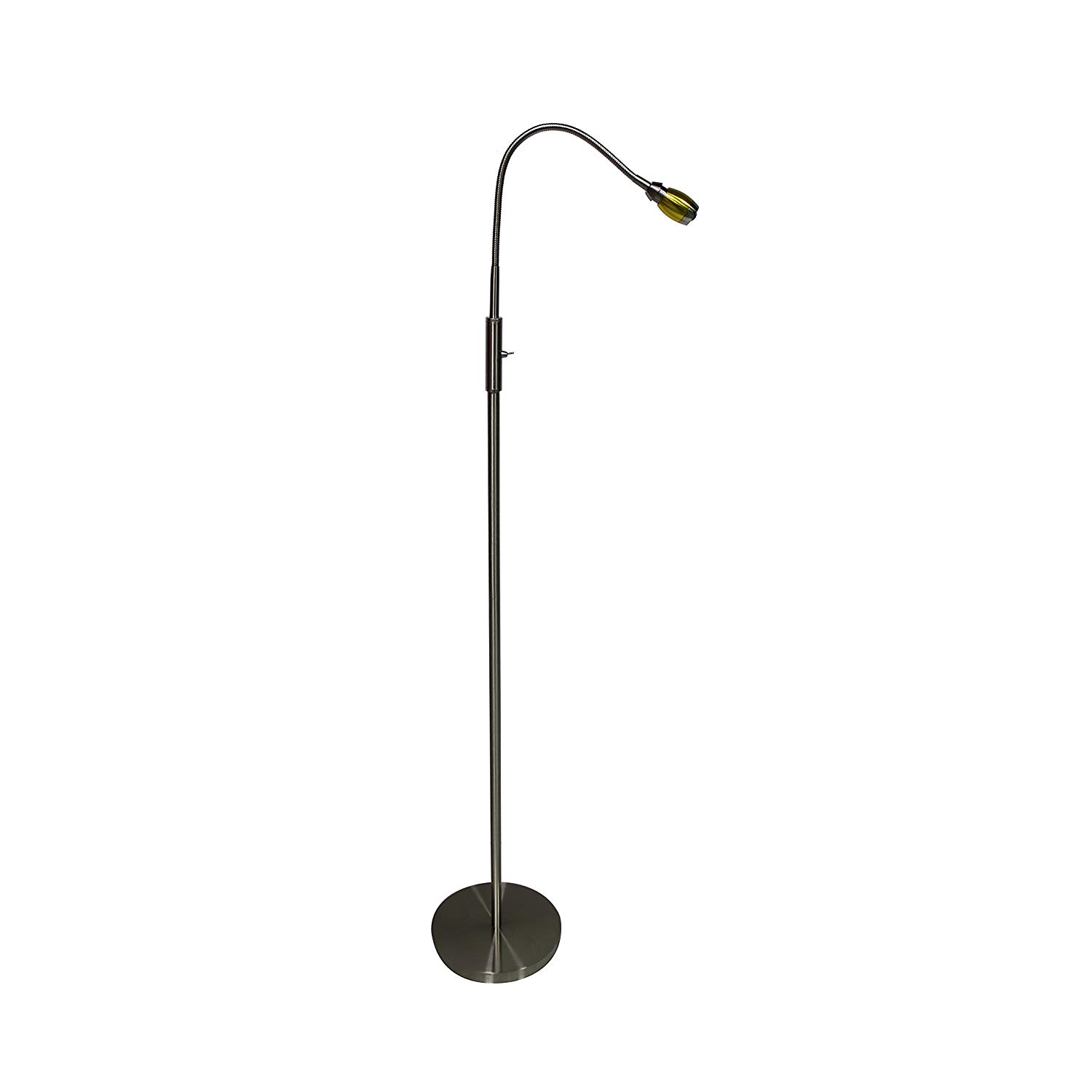 Daylight24 Focus Adjustable Beam LED Floor Stand Light, 402071-39