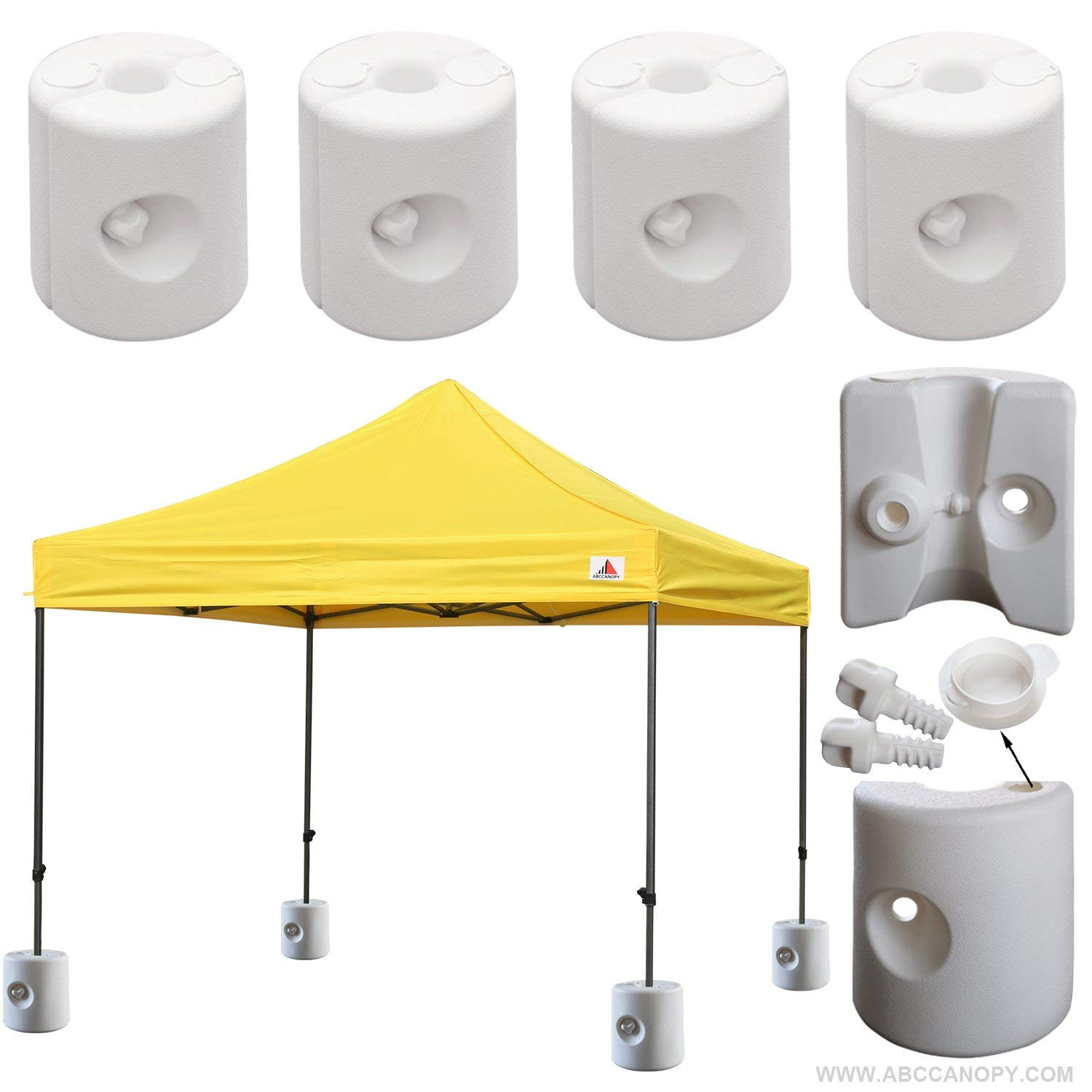 .Abccanopy Tent Weight Feet Drum