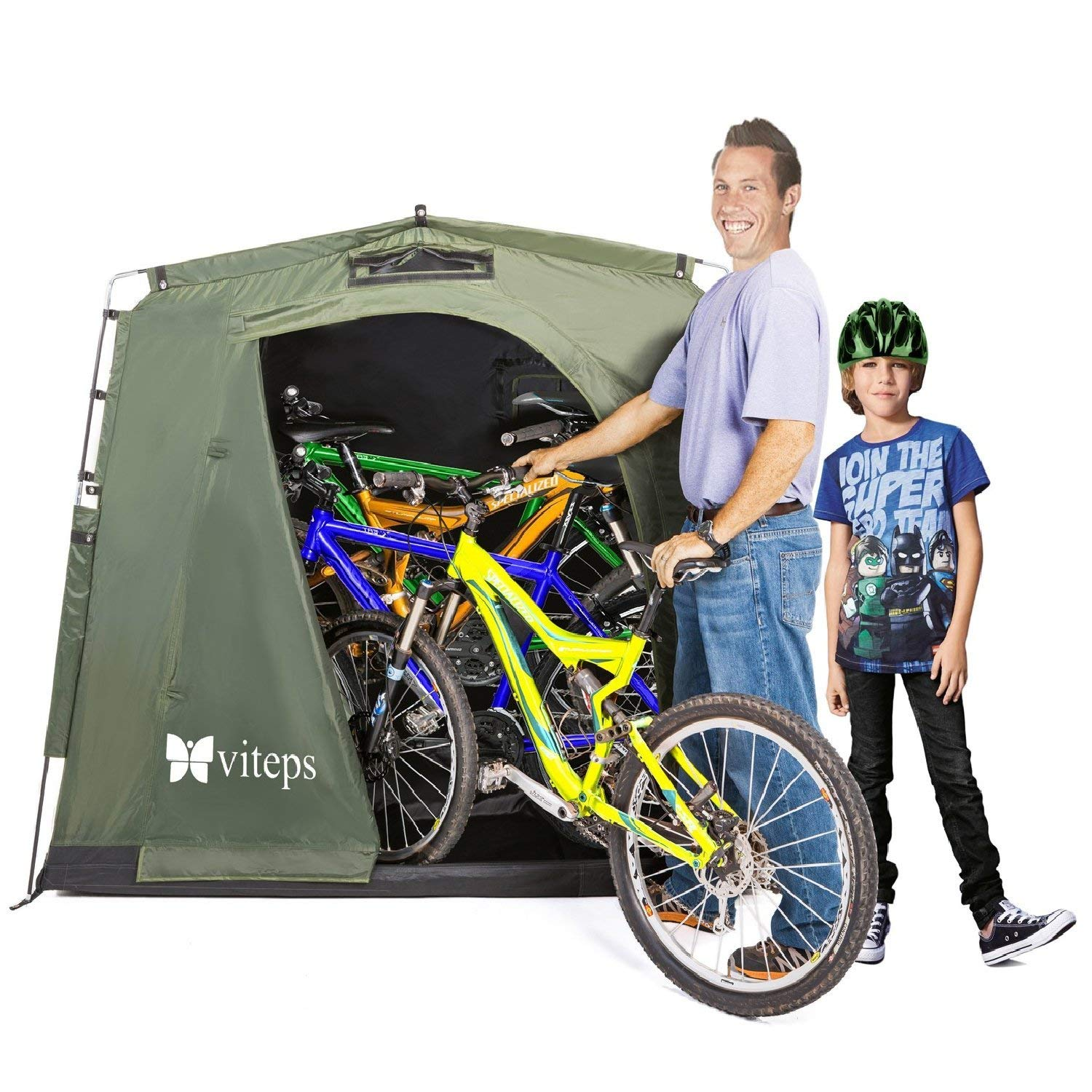 Viteps Space-Saving Outdoor Storage Shed Tent