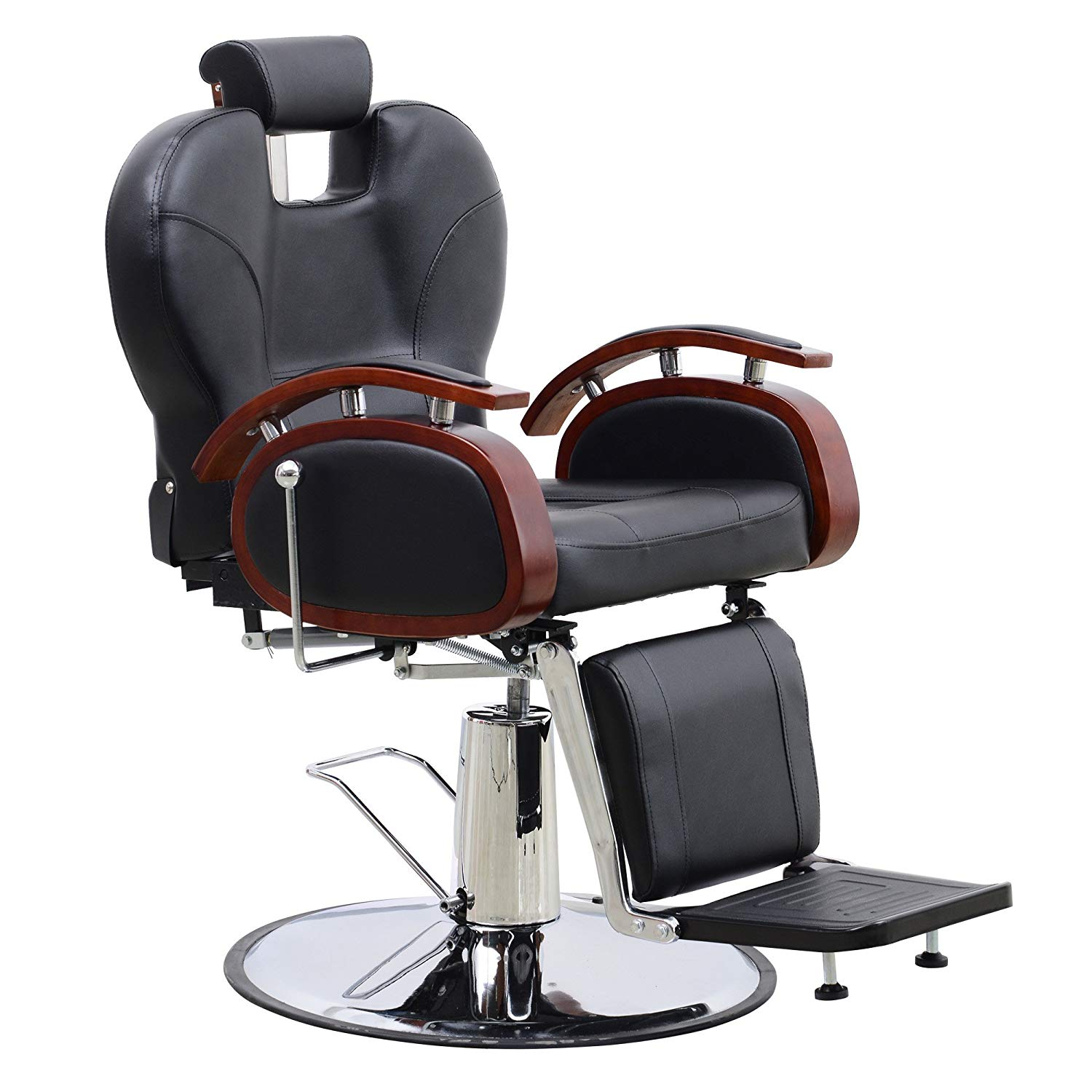 BarberPub All Purpose Hydraulic Barber Chair, 6154-8705