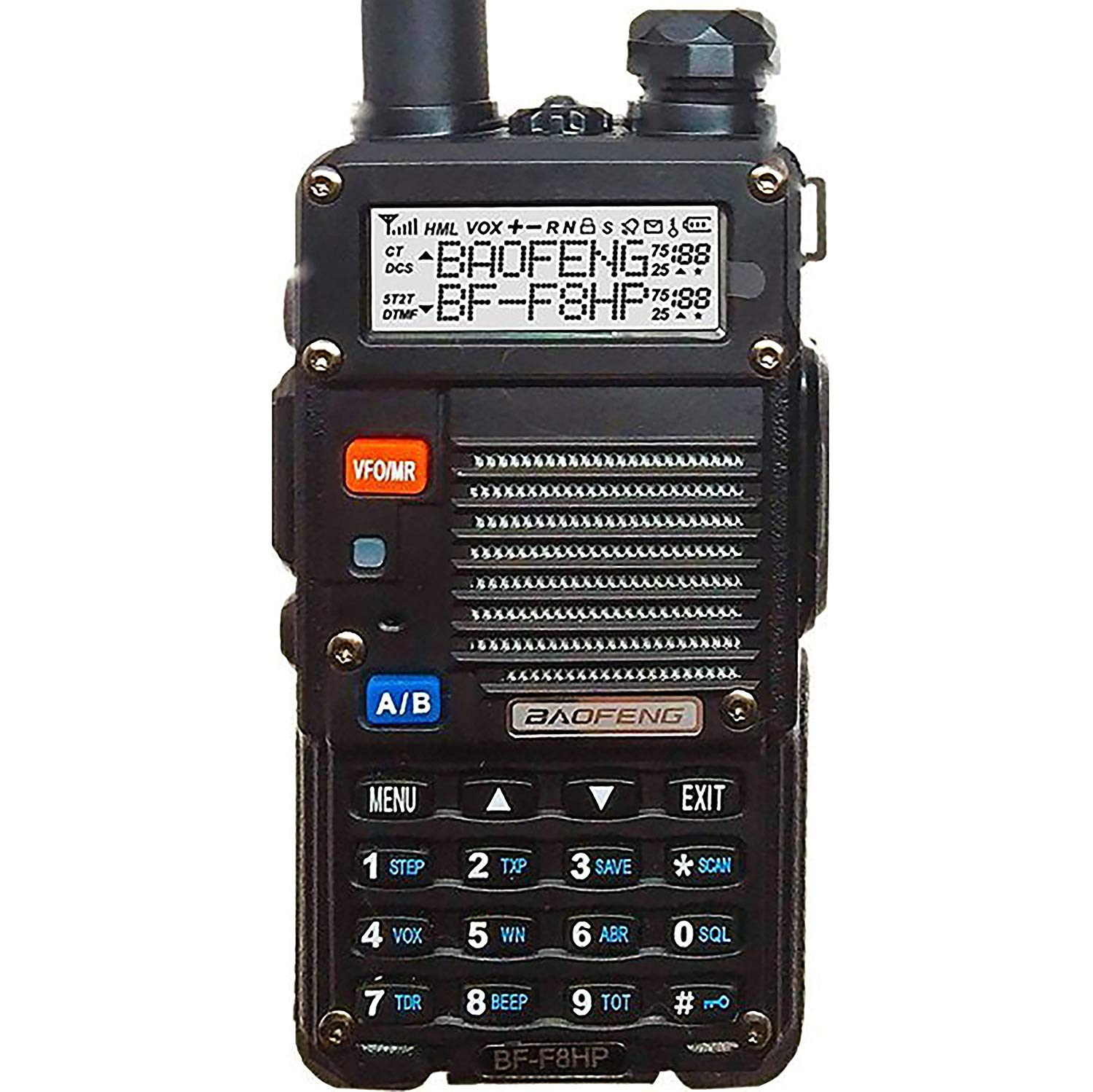 BaoFeng BF-F8HP 8-Watt Dual Band Two-Way Radio