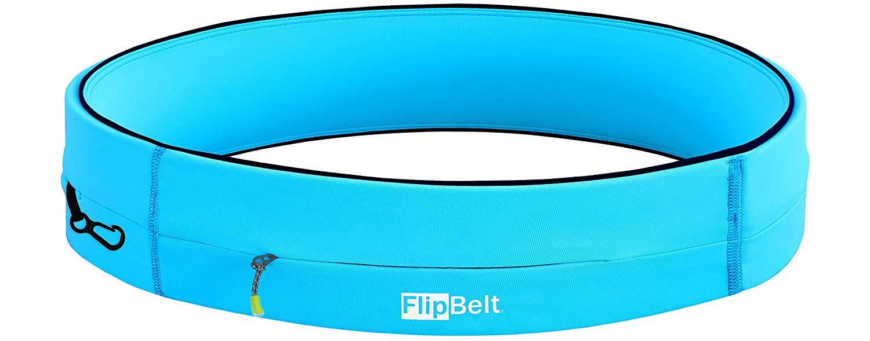 FlipBelt zipper