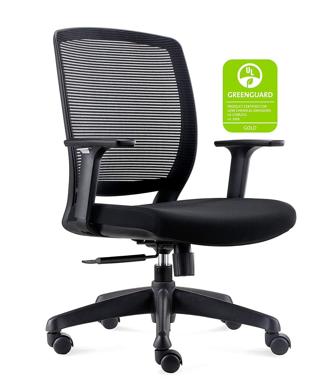 Chairlin Mid-Back Modern Ergonomic Mesh Fabric Computer Chair