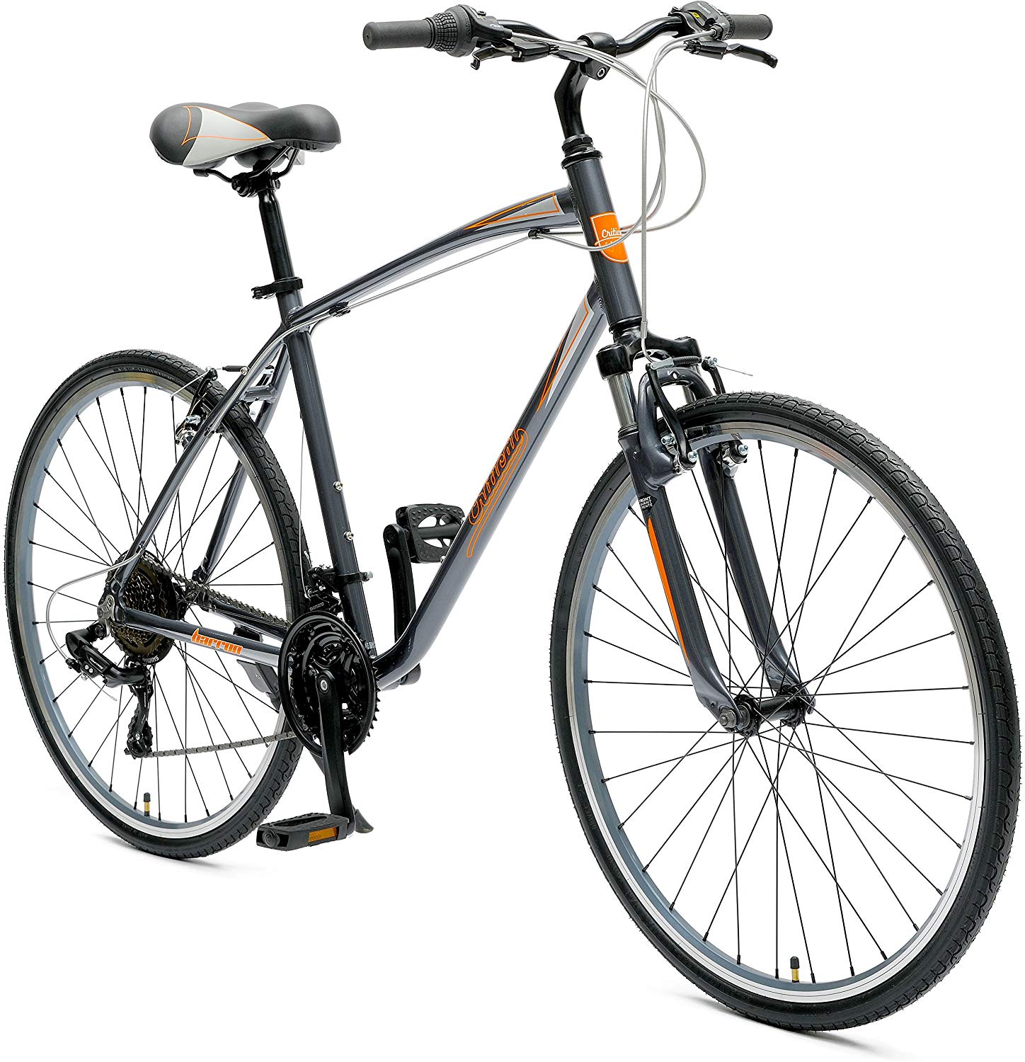 Critical Cycles Men's Hybrid 21 Speed Bike