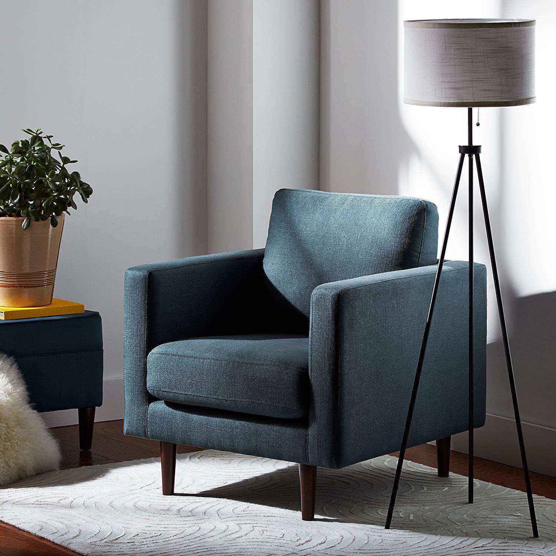 Rivet Minimalist Tripod Stand Floor Lamp