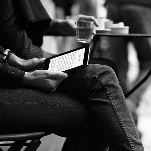 Kindle Voyage E-reader 6-inch 300 ppi High-Resolution