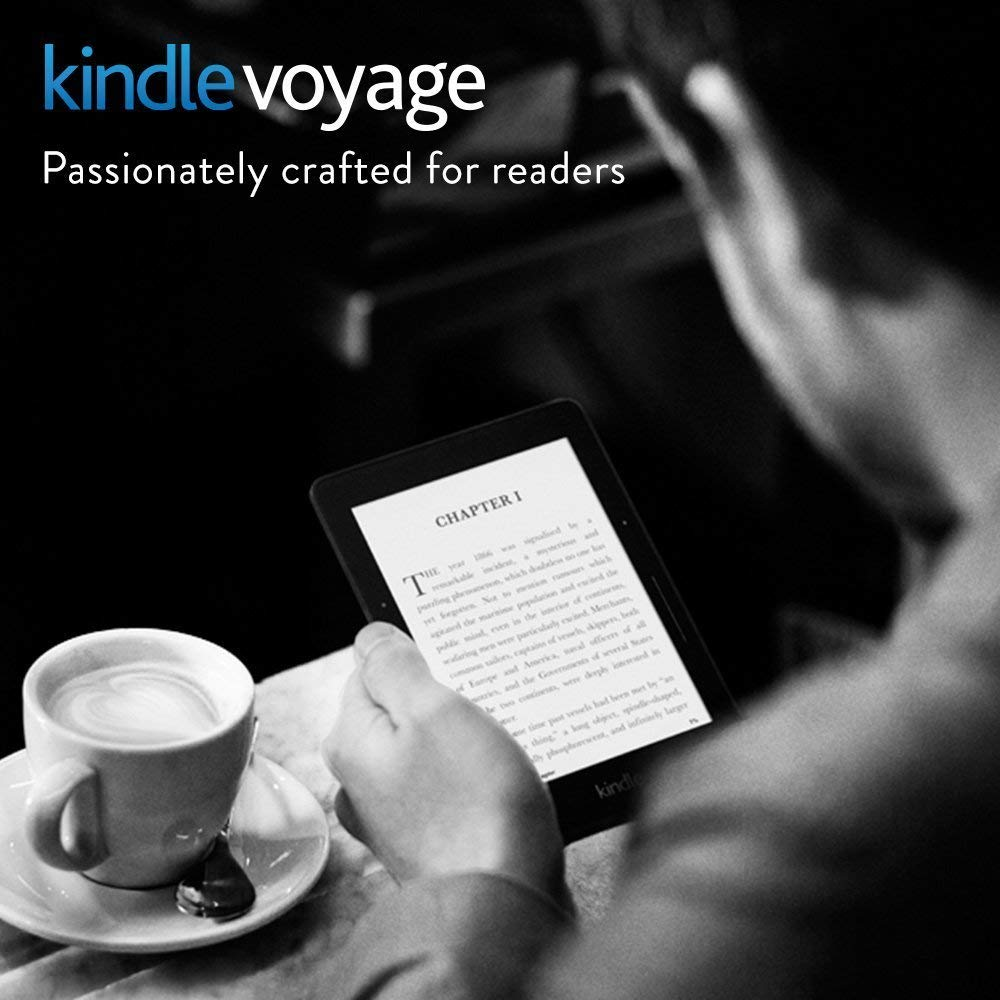 Kindle Voyage 6-Inch High-Resolution Display 300 PPi