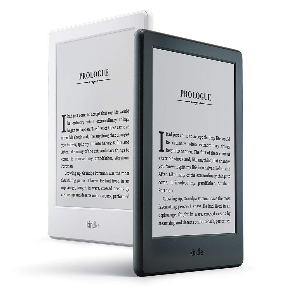 Kindle E-Reader White 6-Inch Touchscreen Glare-Free