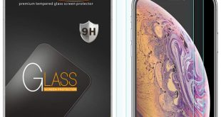 [2-Pack] Supershieldz for iPhone XS & X and Apple Screen Protector