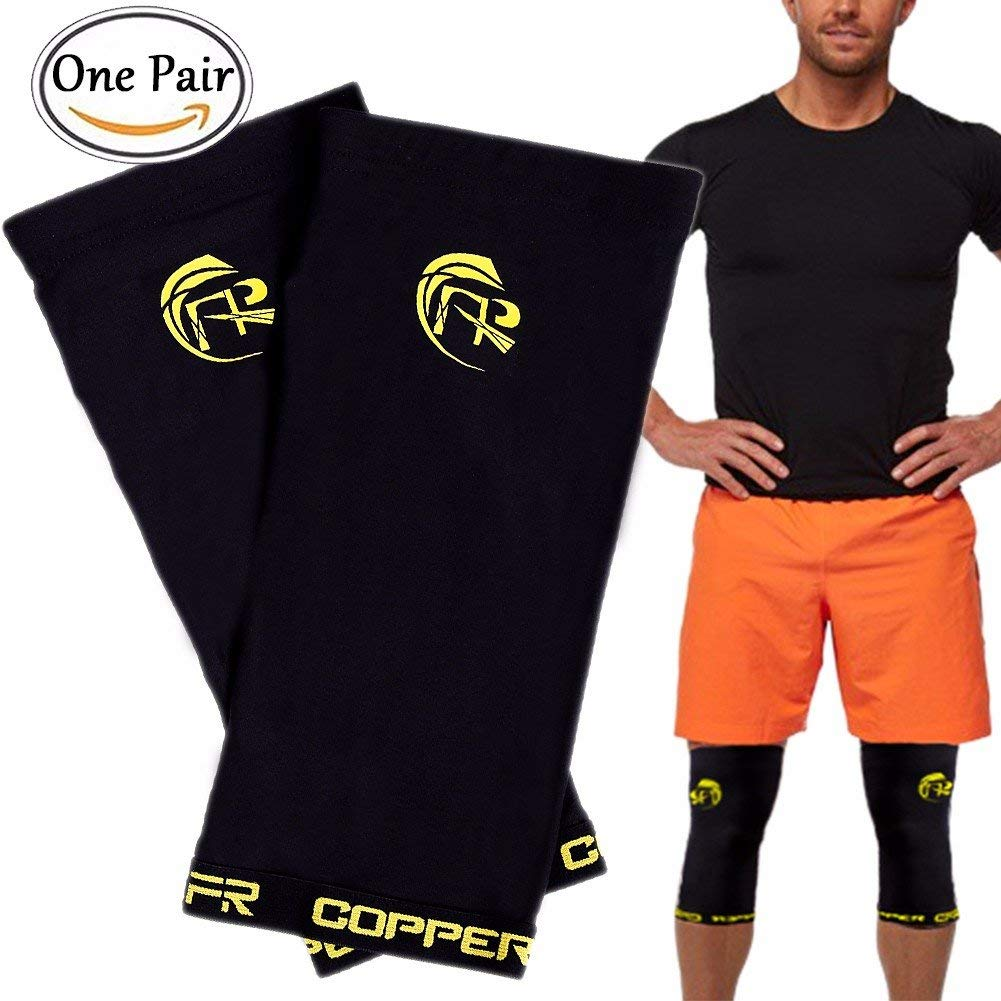 CFR Copper Knee Sleeves One Pair Knee Brace