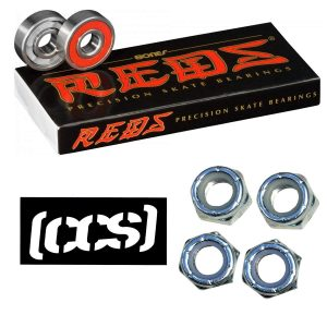 Bones Reds Bearings for [Skateboards, Longboards, Scooters, Spinners]