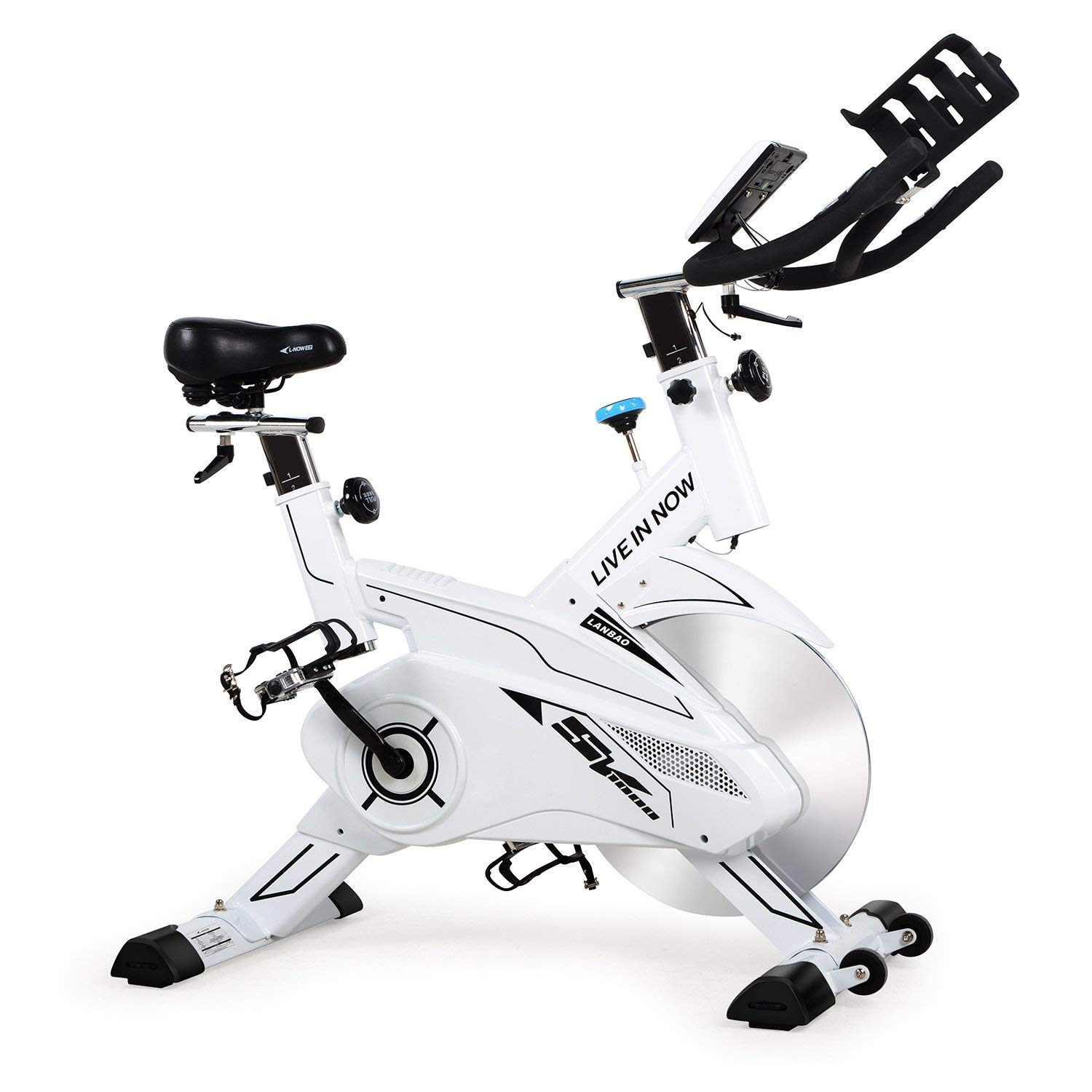 L NOW Indoor Cycling Bike with LCD display