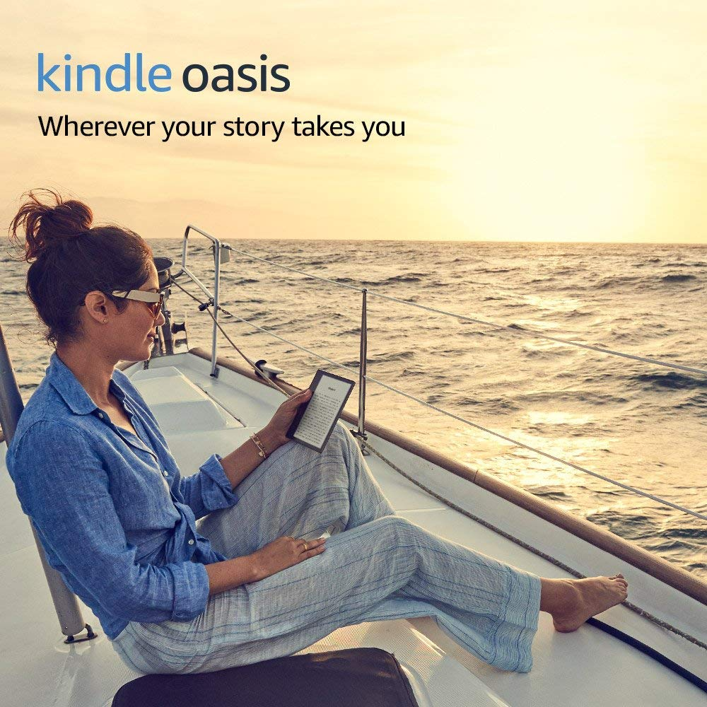 Kindle Oasis E-reader 7-Inch High-Resolution Display