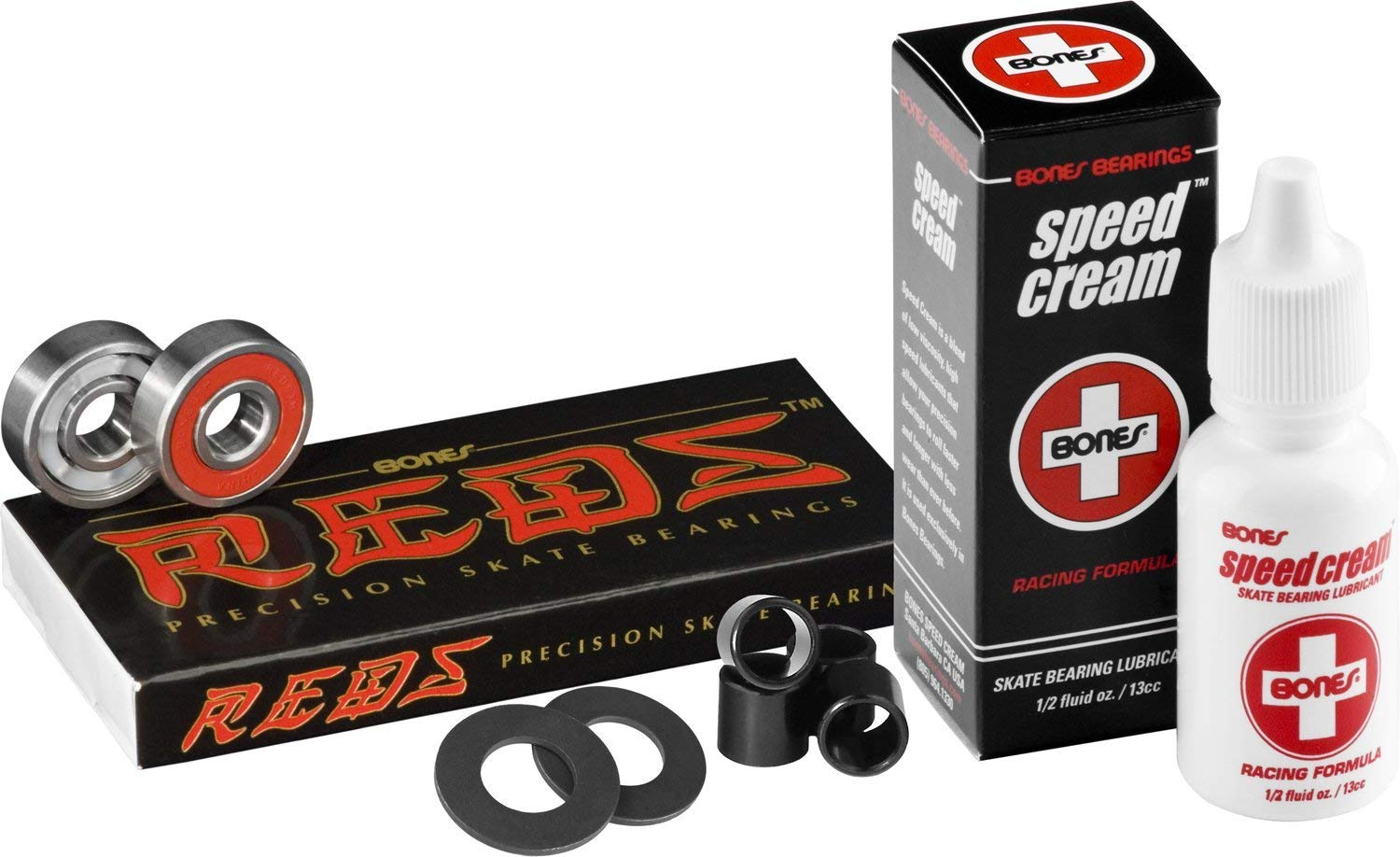 Bones Reds Skate Precision Bearings