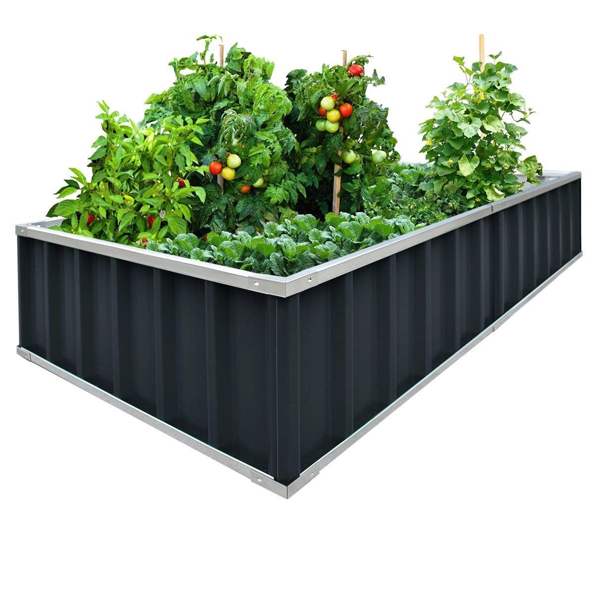 Kingbird Extra-Thick 2-Ply Reinforced Card Frame Raised Bed Garden