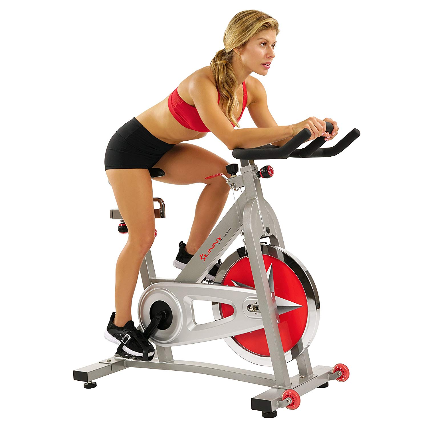 Sunny Health and Fitness Pro Indoor Cycling Peloton Bike