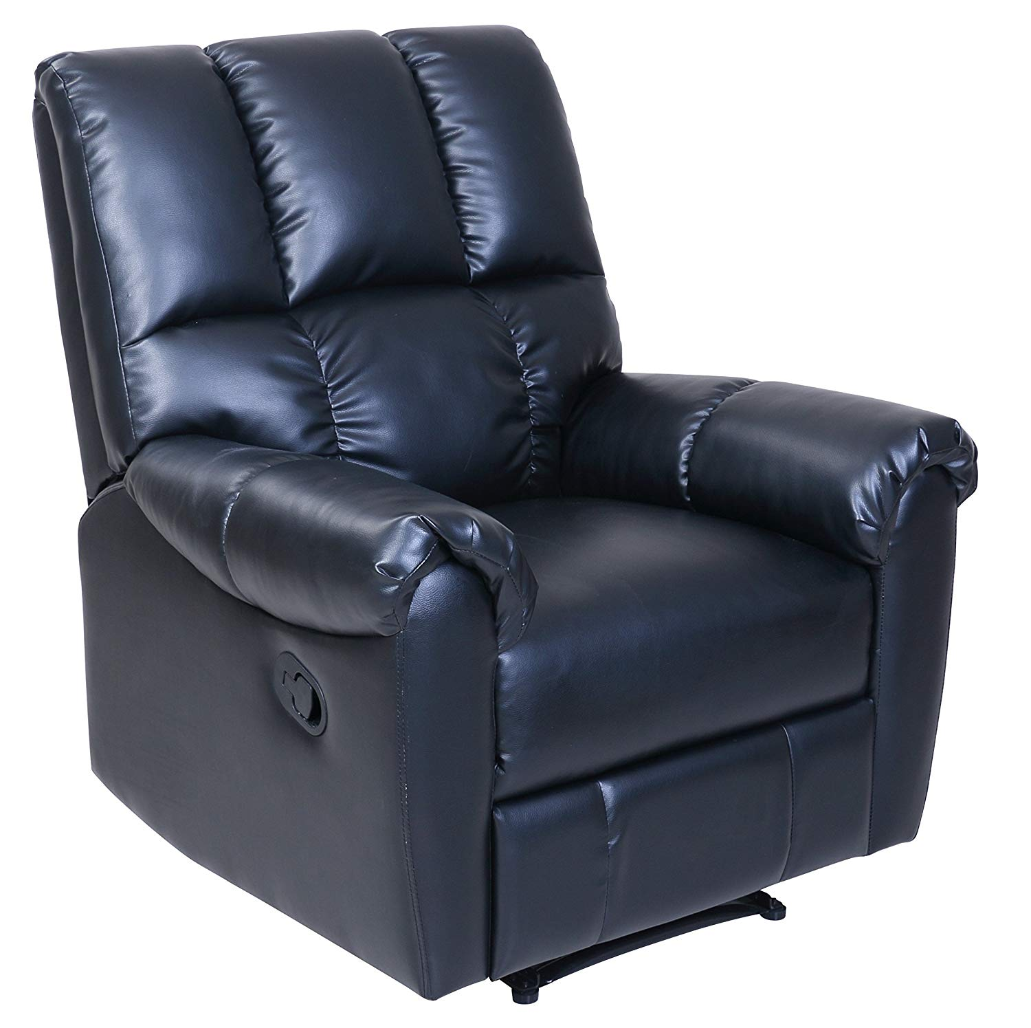 BarcaLounger Restore & Relax leather Recliner Black