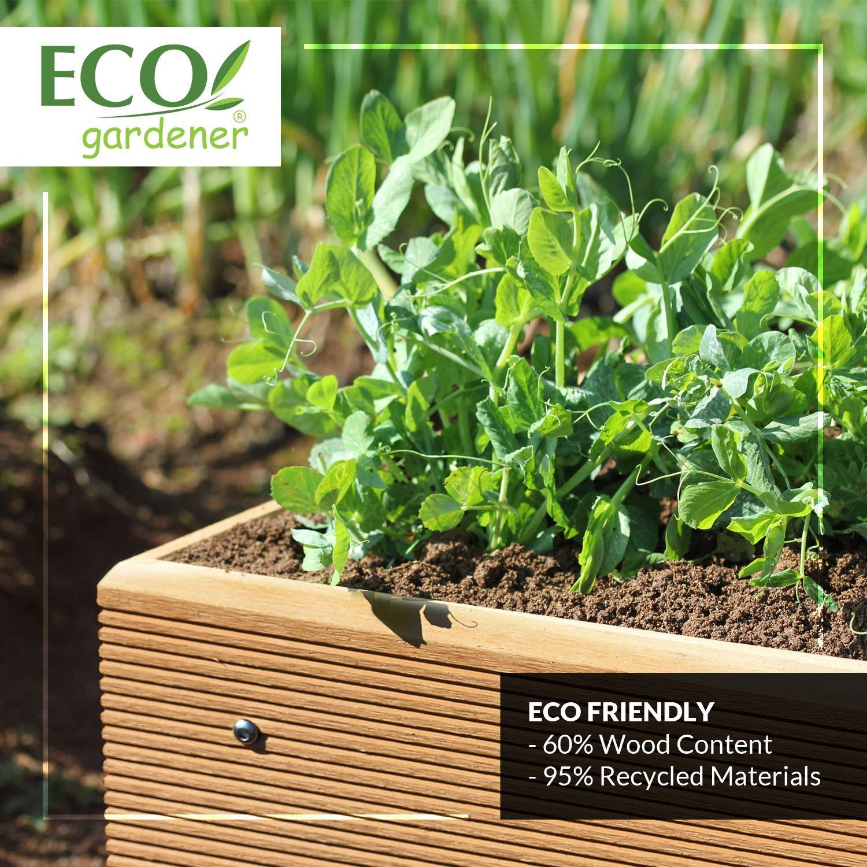 ECOgardener Premium Raised Bed Garden Planter