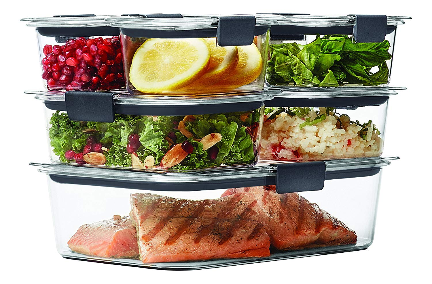 Rubbermaid Brilliance Container ​14-Piece ​1977447