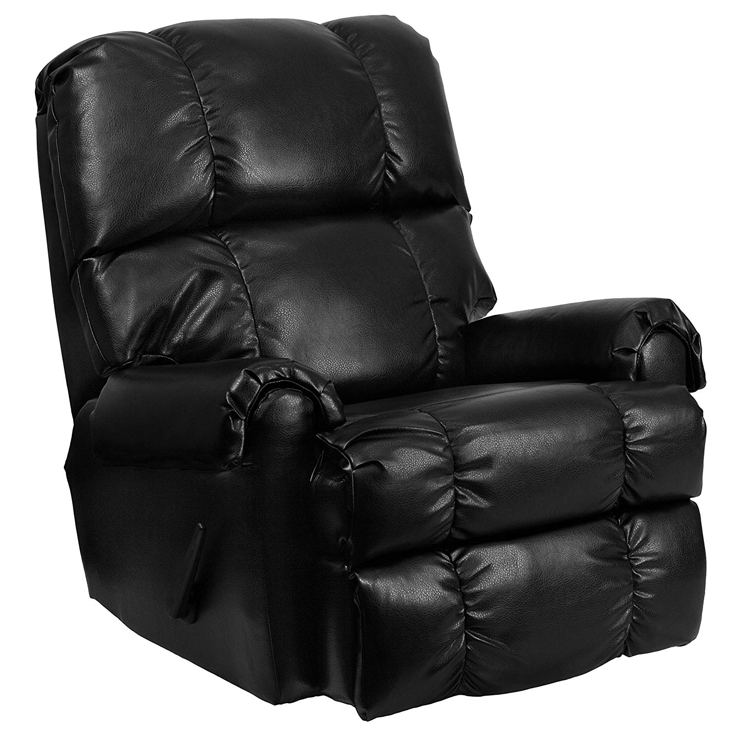 Flash Furniture Leather Rocker Recliner with Contemporary Apache