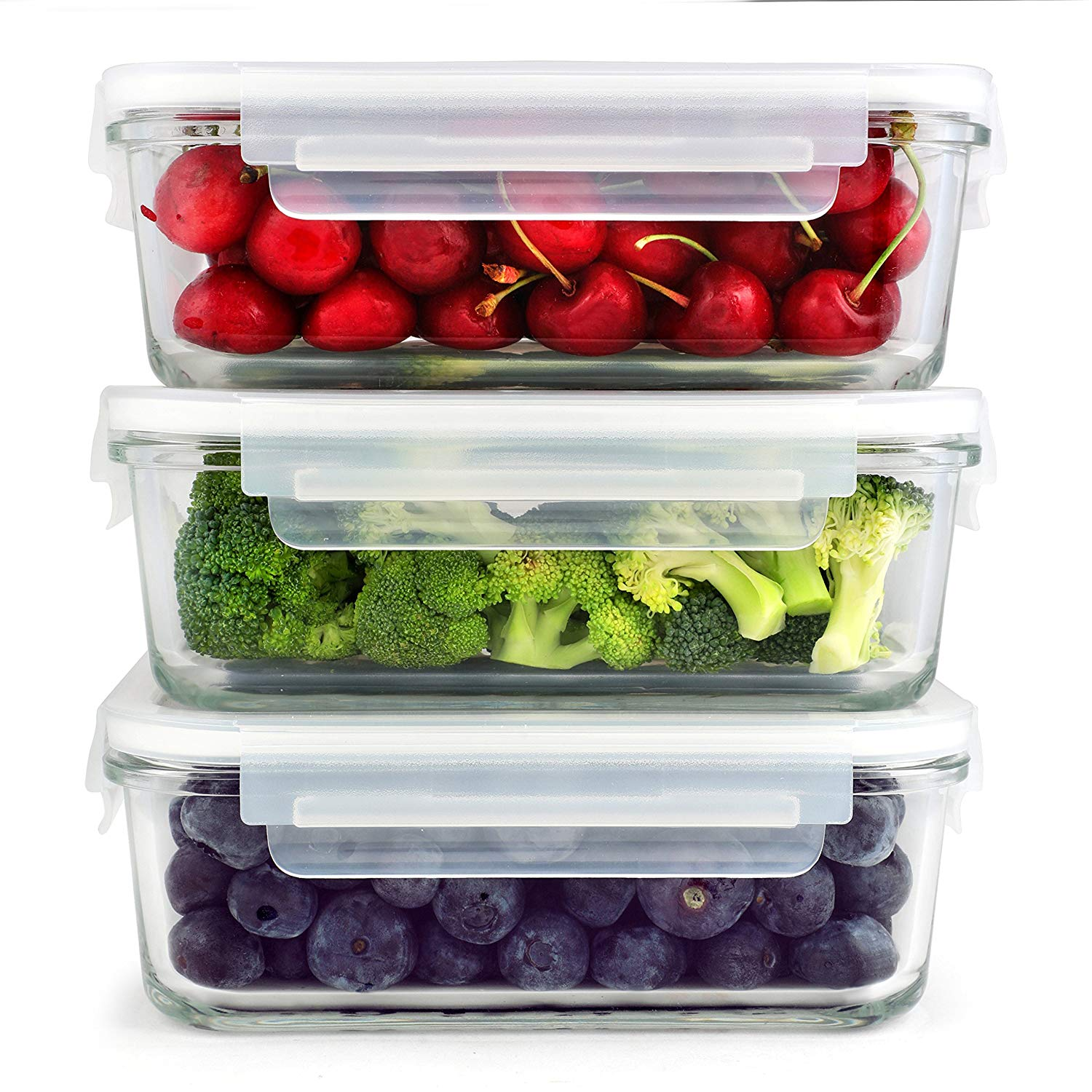 SETS SIMPLYESTA Glass Storage Containers