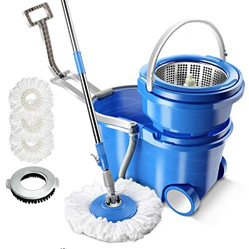 12L Magic Wheel Mop Bucket