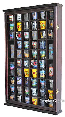 56 Shot Glass Display Case