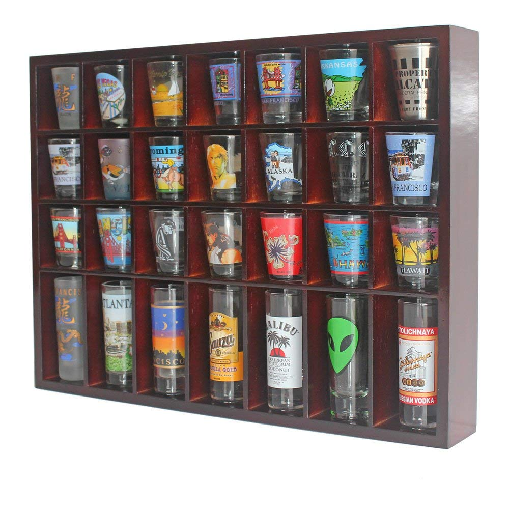8 Shot Glass Display Case