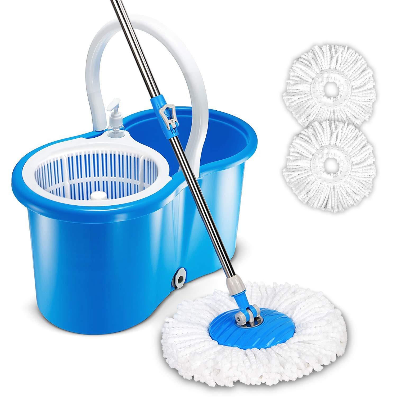 HAPINNEX Easy Spin Mop Bucket