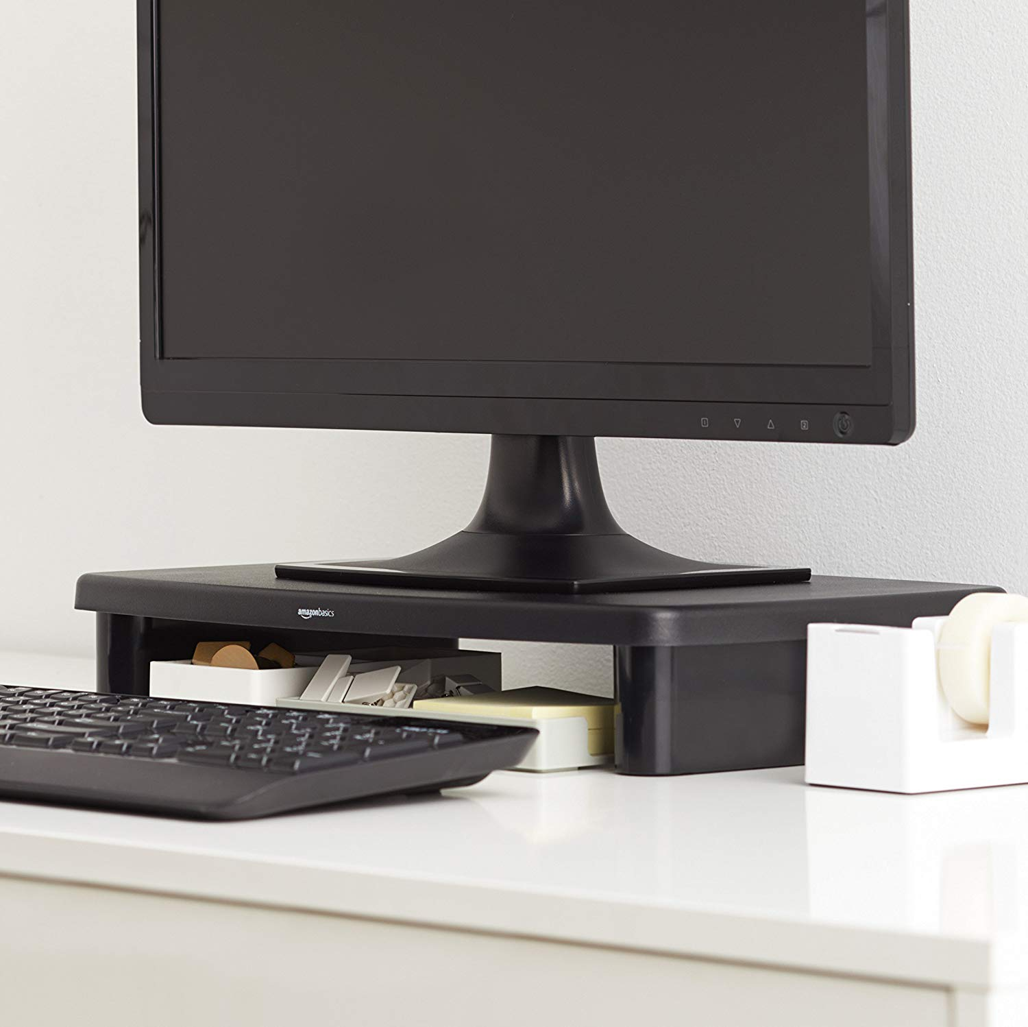 AmazonBasics Adjustable Monitor Riser
