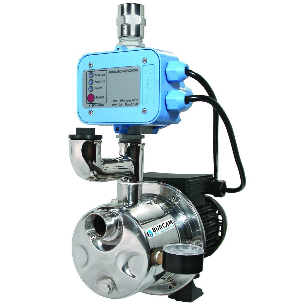 BurCam 506532SS Water Pressure Booster Pump